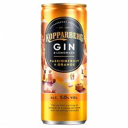 KOPPARBERG PASSION FRUIT ORANGE AND LEMONADE 250ml